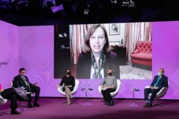 Kvien: Garantizar la igualdad de género en las autoridades públicas es un desafío tanto para EE.UU. como para Ucrania