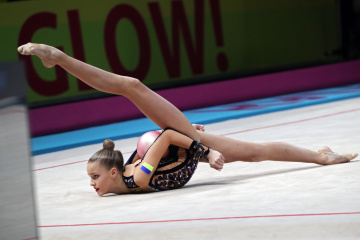 欧州新体操選手権がキーウで開始