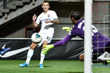 El Zorya se impone al AEK en la UEFA Europa League