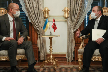PM Shmyhal meets with Turkish minister of industry and technology