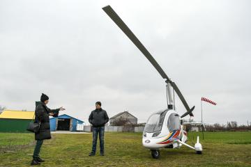 モトール・シーチ社、国内初のジャイロコプター試作品のテスト実施