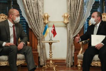 El primer ministro Shmygal se reúne con el ministro turco de Industria y Tecnología