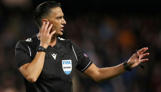 «Шахтар» та «Боруссію» в Лізі чемпіонів УЄФА розсудять арбітри з Голландії