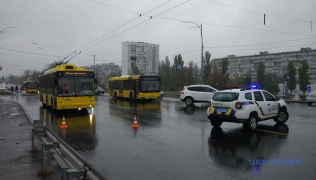В Киеве «заминировали» мост Патона