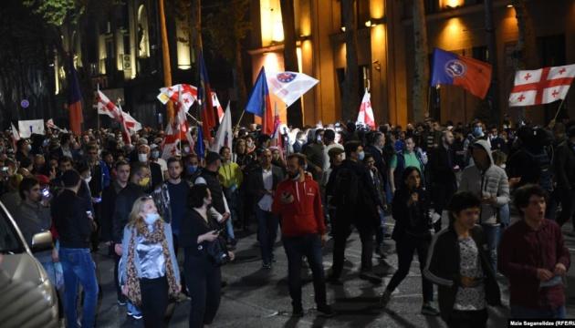У Грузії почалися протести через незгоду з результатами виборів
