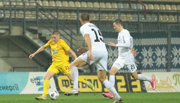 «Ингулец» и «Заря» поделили очки в матче футбольной Премьер-лиги Украины