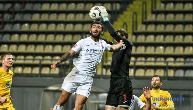 «Інгулець» і «Зоря» поділили очки у матчі футбольної Прем'єр-ліги України