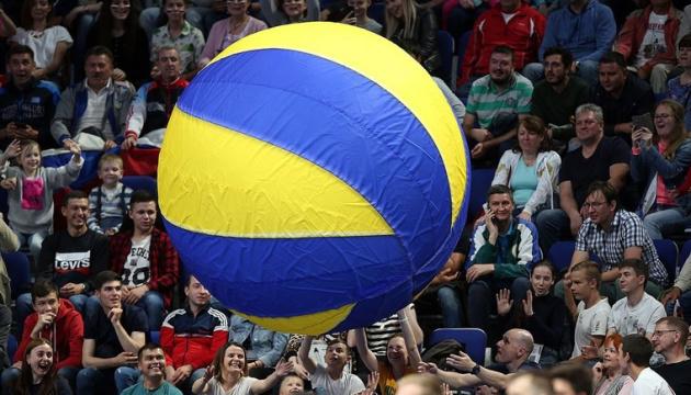 Украина примет волейбольное Евро-2023 среди мужских сборных