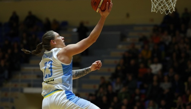Баскетболистки сборной Украины обыграли Финляндию в отборе Евро-2021