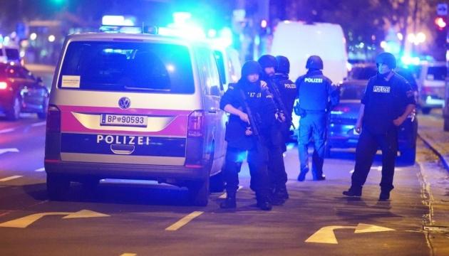 Поліція -про стрілянину у Відні: Мова йде про теракт