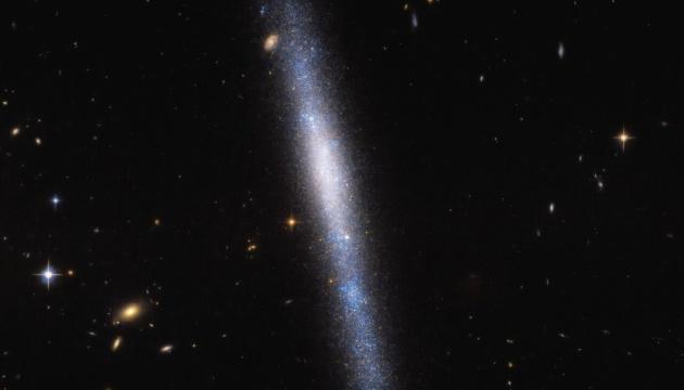 Hubble показал «звездный водопад»