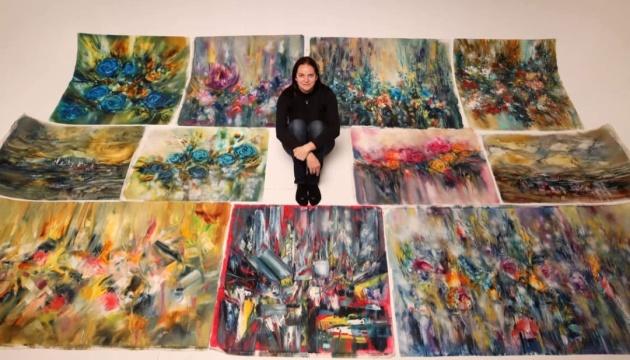 Український національний музей в Чикаго поповнився картинами художниці Христини Козюк