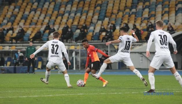 «Шахтар» програв «Боруссії» М в матчі Ліги чемпіонів