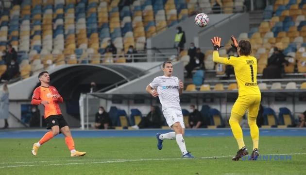 «Шахтер» проиграл «Боруссии» М в матче Лиги чемпионов