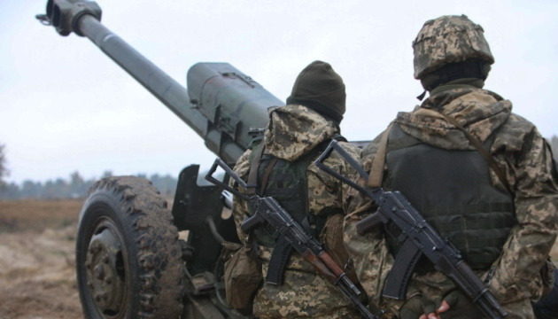 Invaders violate ceasefire in Donbas five times, two Ukrainian servicemen wounded