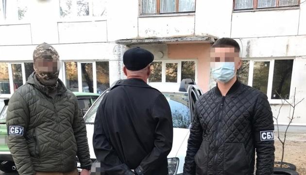 СБУ затримала диверсанта, причетного до підриву мостів на Донбасі