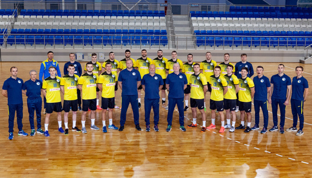 Украинские гандболисты с ничьей стартовали в квалификации Евро-2022