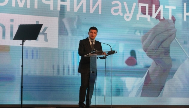 Zelensky waiting for 'economic Constitution of Ukraine'