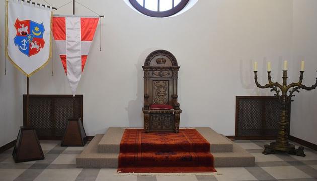 В Дубенском замке презентовали Тронный зал