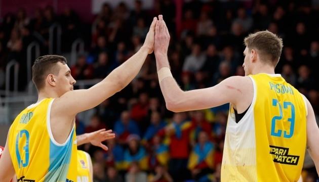 Визначився склад чоловічої збірної України на матчі відбору Євробаскету