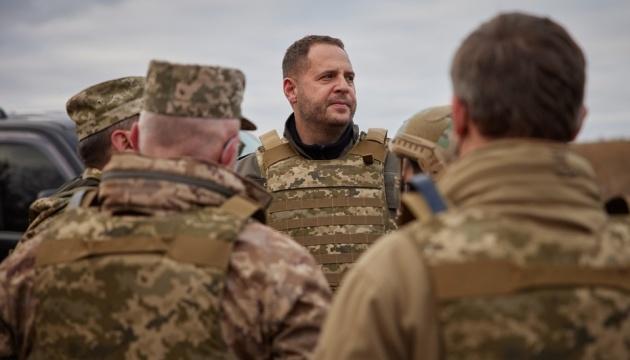 Україна готова дати відсіч будь-яким провокаціям на Донбасі – Єрмак