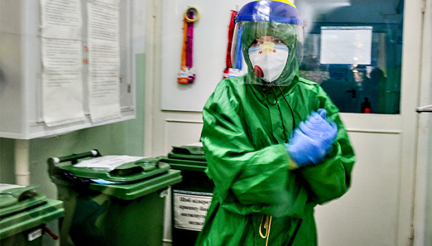 Ukraine meldet 10.746 Covid-19-Fälle binnen des Tages