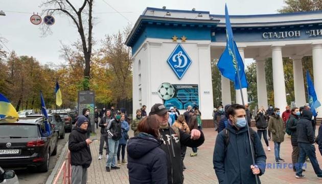 В Киеве устроили автопробег к дому председателя КСУ