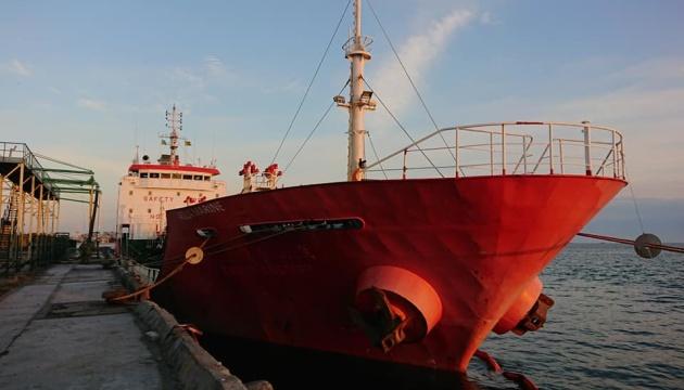 Бердянський порт вперше за п'ять років прийняв танкер із паливом
