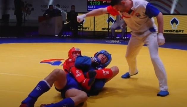 El ucraniano Rudnev se proclama campeón mundial de sambo
