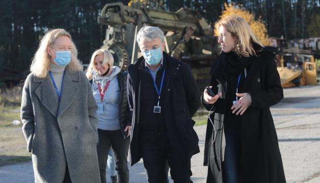 Ткаченко назвал шаги МКИП для внесения объектов Зоны отчуждения в список ЮНЕСКО