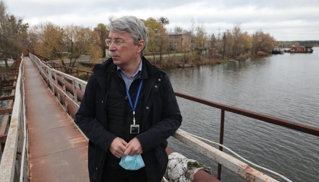 Ткаченко назвав кроки МКІП для внесення об'єктів Зони відчуження до списку ЮНЕСКО