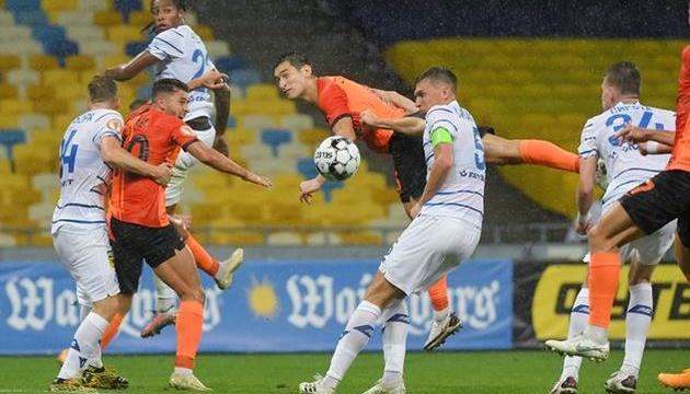 «Динамо» проиграло «Шахтеру» в украинском «классико»