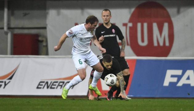 «Заря» и «Ворскла» сыграли без голов в матче футбольной Премьер-лиги Украины
