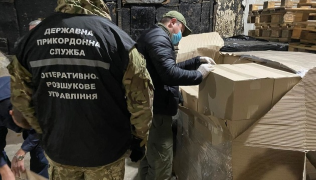 Прикордонники вилучили на Донеччині контрафактної продукції на понад 13,5 мільйона