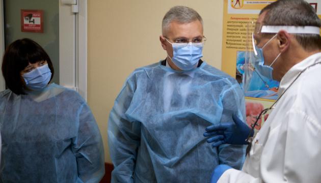 На Черкащині вперше в області провели операцію з трансплантації нирки