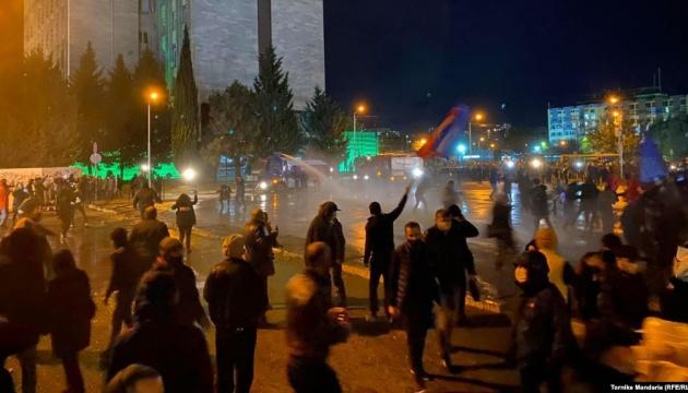 Під час протесту біля будівлі ЦВК Грузії постраждали 27 осіб