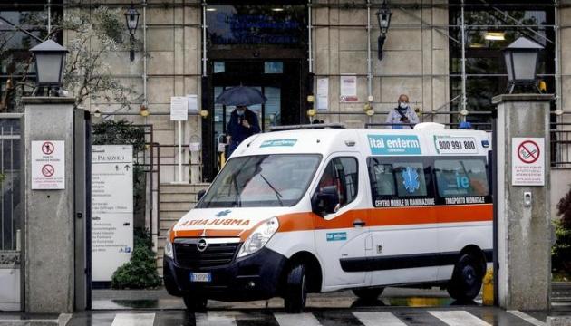 В Італії - найвища з початку квітня щоденна смертність від COVID-19