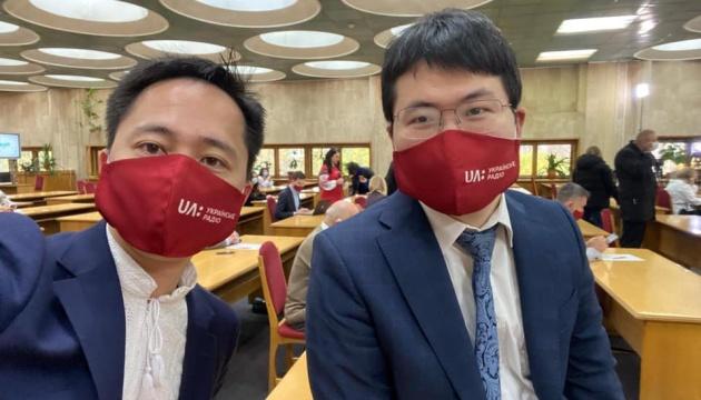 日本の外交官、ウクライナ語全国書き取りイベントに参加