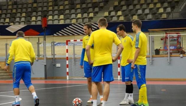 Збірна України з футзалу обіграла угорців у товариському матчі