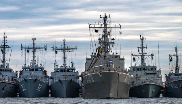 Ukrainian, NATO ships hold joint exercise in Black Sea