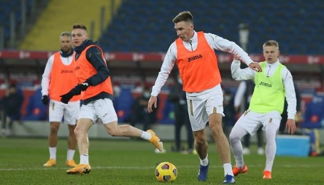 Сьогодні збірна України з футболу зустрічається з командою Польщі