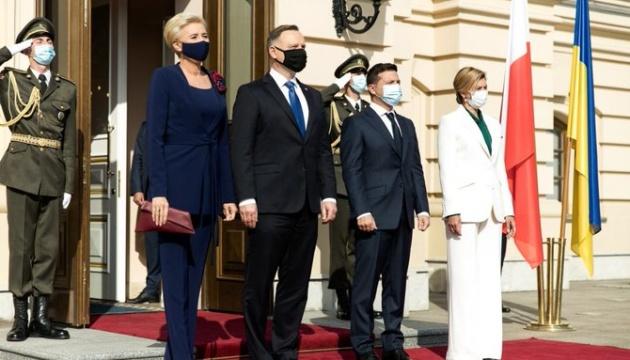 Зеленський привітав Польщу з Днем незалежності