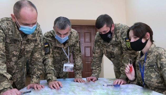 ЗСУ відпрацьовує оборонні операції із проведенням контрнаступів