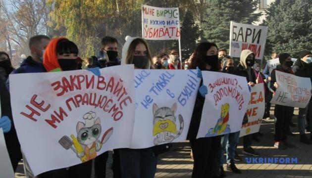 Landesweite Proteste von Gastronomen gegen Corona-Auflagen