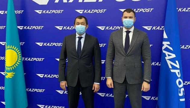 Україна розвиватиме співробітництво із Казахстаном у галузі поштової логістики