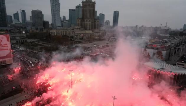 У Варшаві на марші націоналістів сталися сутички - поліція застосувала гумові кулі