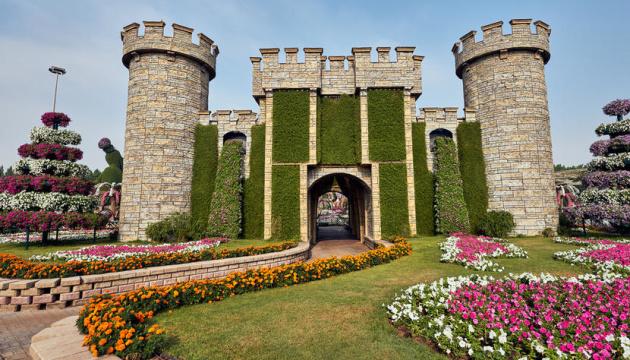 В Дубае снова открылся Сад чудес