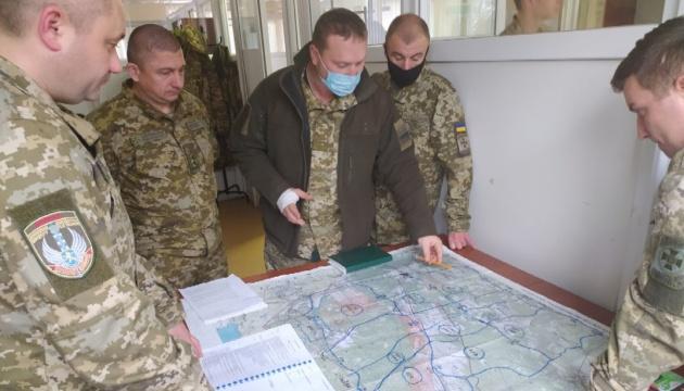 Прикордонники та мотопіхота проводять навчання за стандартами НАТО