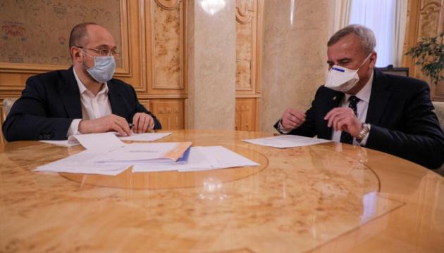 Шмигаль зустрівся з президентом НАНУ - говорили про фінансування і реформи