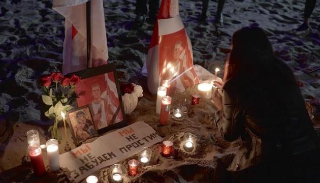 У містах Білорусі проходять акції пам'яті Романа Бондаренка, є затримані